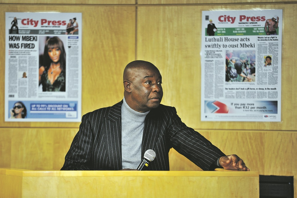 Author of The Chapter We Wrote: The City Press story, Len Kalane.