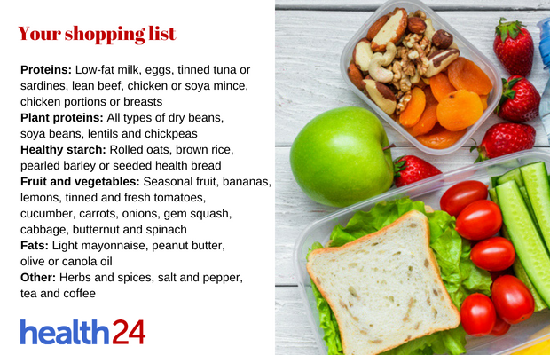 how to eat healthy on a budget health24