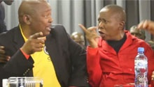 WATCH: Malema and Lekota in heated argument at land hearing