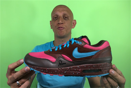 A pair of ultra-rare Nike shoes sold in