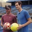 WATCH: Andy Murray plays 'football' tennis with Wayne Rooney