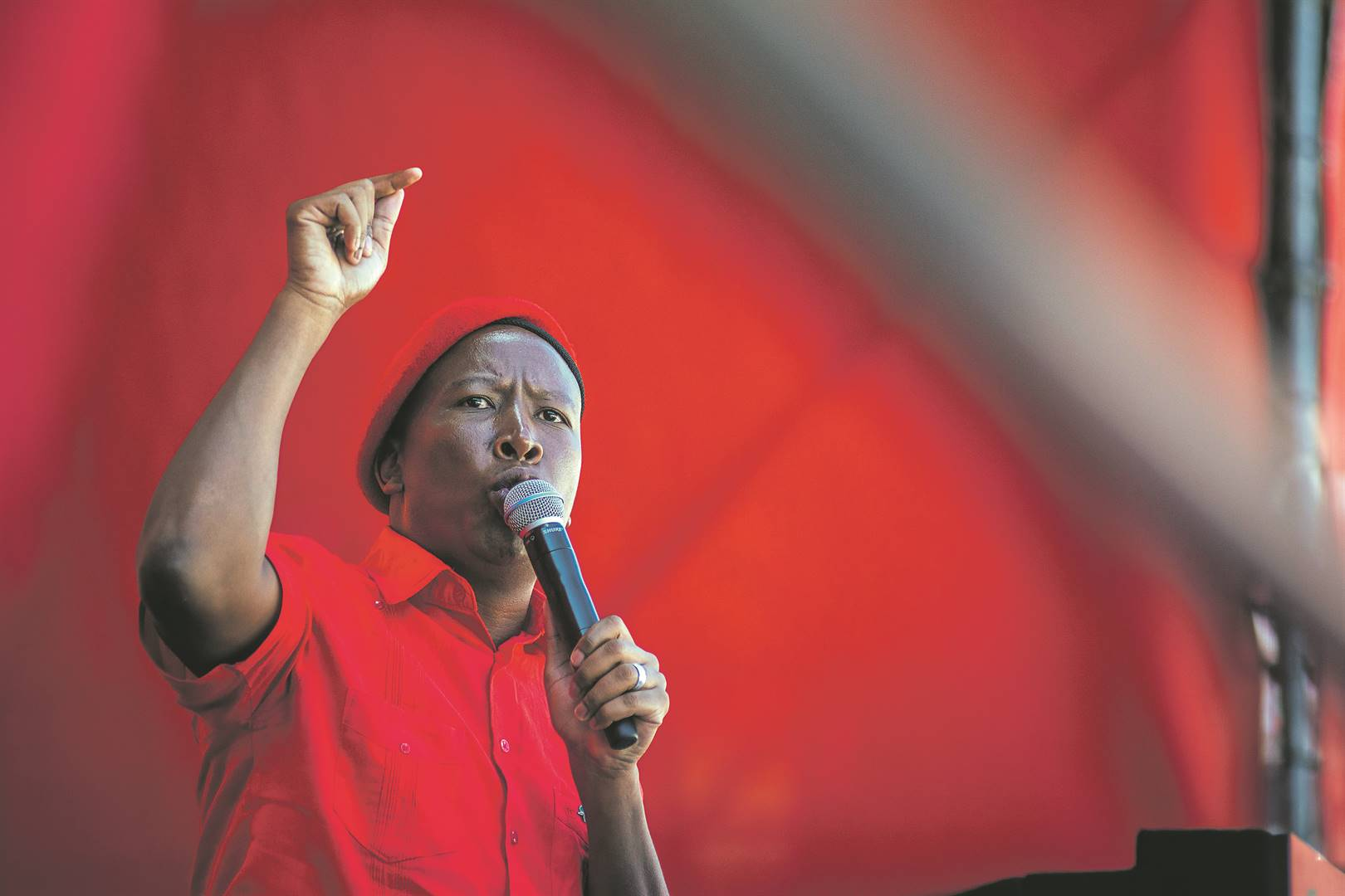 EFF leader Julius Malema   Photo: Waldo Swiegers