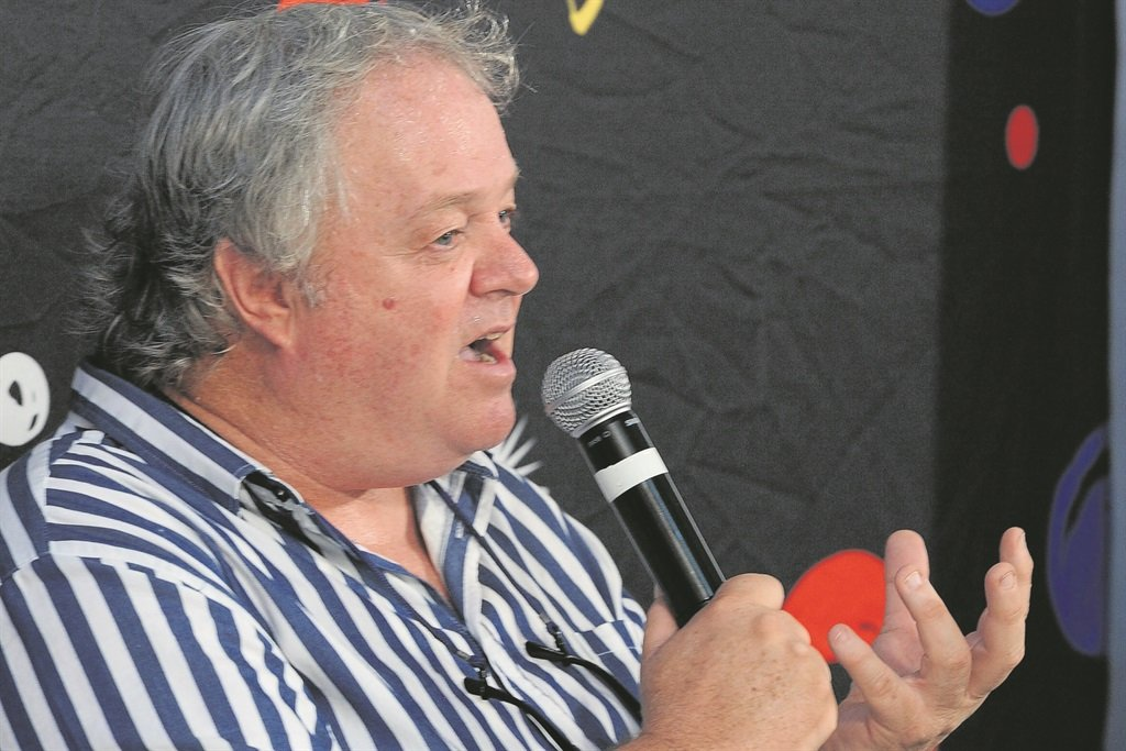 Jacques Pauw, the author of The President's Keepers. Picture: Jaco Marais