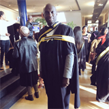 WATCH: TBOSE GETS HIS MASTERS DEGREE!