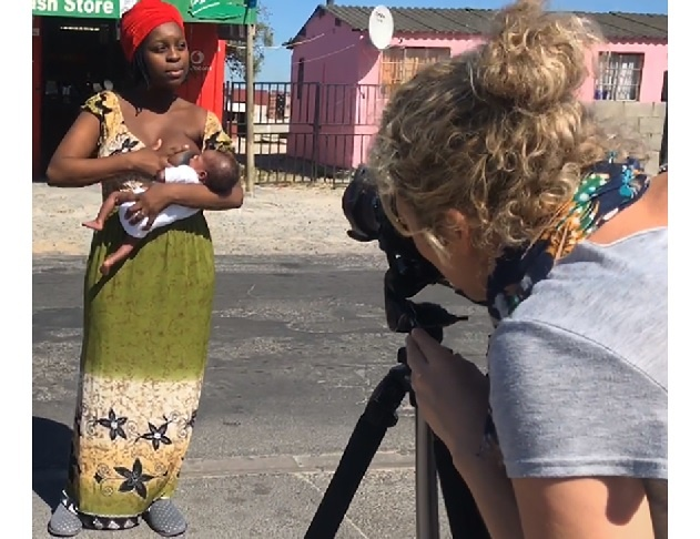 """""""I placed each mother and child in public locations that were as diverse as possible. I continued meeting with and documenting mothers until I reached my target number of 101."""""""