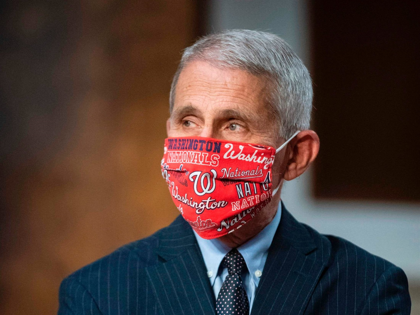 Fauci jokes he was 'the skunk' at Trump's COVID-19 picnic