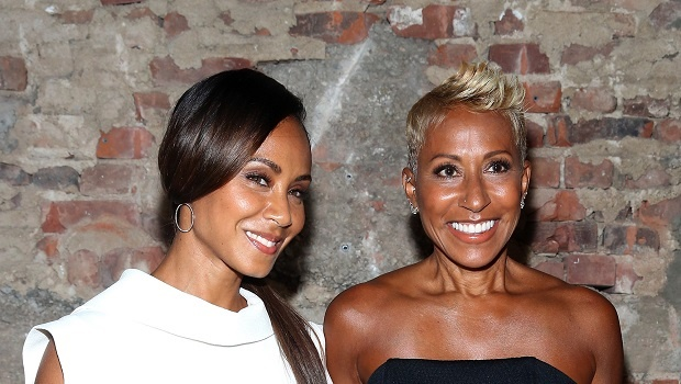 Jada Pinkett Smith and her mother Adrienne Banfield-Norris. Credit: Getty Images