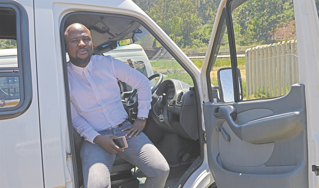 Taxi driver Thabani 'Tiger' Sosibo says police might have been over the top when they pulled a gun on him for a traffic violation.