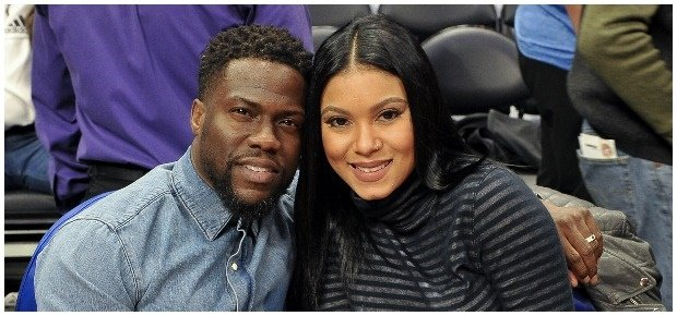 Kevin and Eniko Hart. (Photo: Getty Images/Gallo I