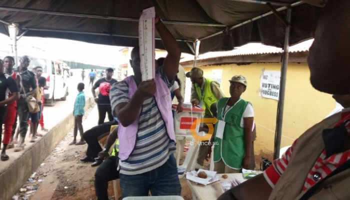 #EkitiDecides2018 polling unit counting of ballots