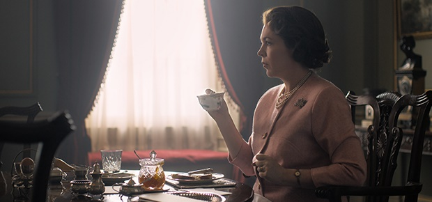 Olivia Colman in The Crown. (Netflix)