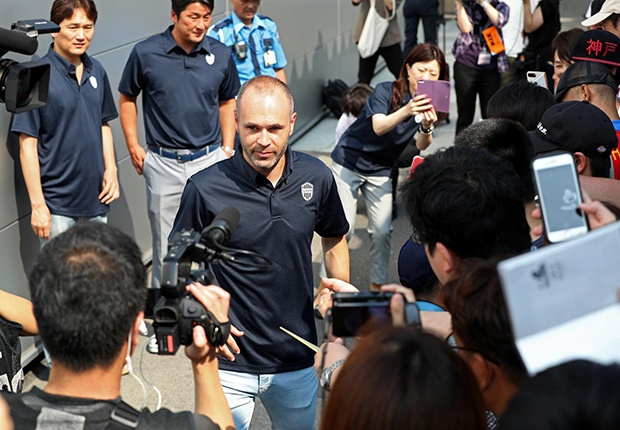 Andres Iniesta (Supplied)