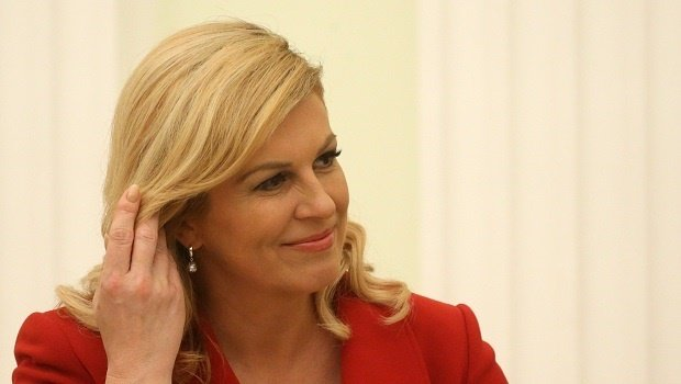 The Croatian president is an attractive woman, but why should that be the focus?