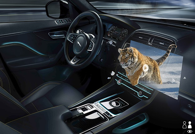 Jaguar Land Rover working on next-generation 3D display tech…