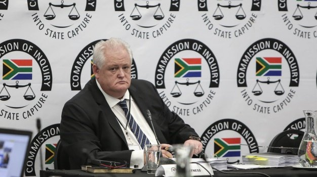 Angelo Agrizzi testifies at the state capture inqu