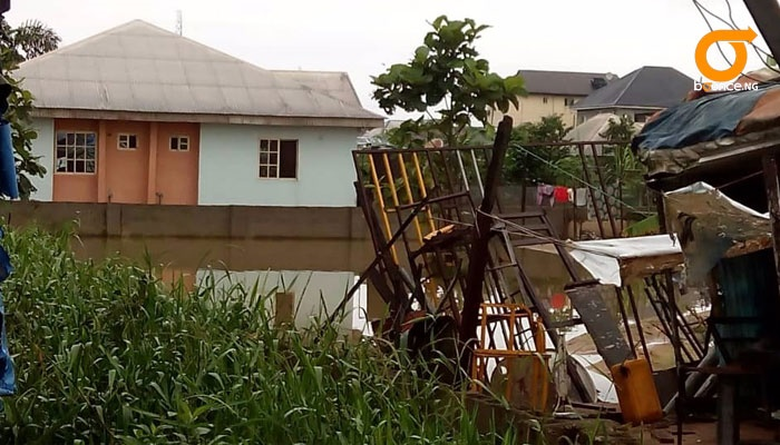 fish takes over homes in Bayelsa