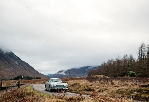 Become Part Of An Elite Line Of Aston Martin Db5 Owners With A R50