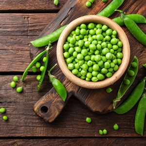 peas are high in protein