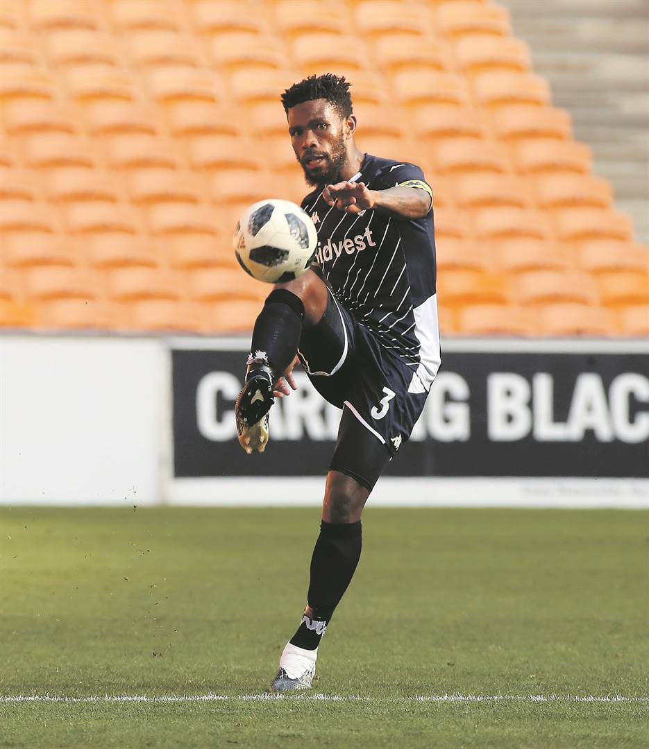 Thulani 'Tyson' Hlatshwayo in his last appearance for Bidvest Wits during the season that ended in the bio-bubble. Picture: Gavin Barker / BackpagePix