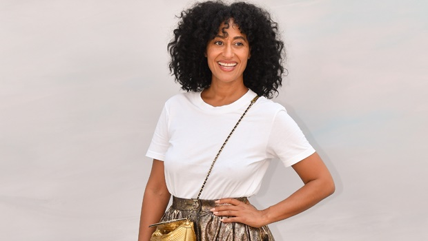 Actress Tracee Ellis Ross attending the  Chanel Haute Couture Fall/Winter 2018-2019 show as part of Paris Fashion week.