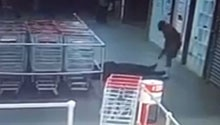 WATCH: Shoprite security guard shot at point-blank during store robbery