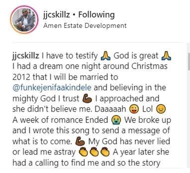 Funke AKindele Made JJC's Dreams Come True