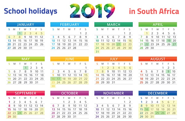 Images Of 2019 Calendar PRINT IT: SA's school holidays 2019 calendar | Parent24