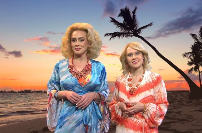 Adele has sparked controversy over her Saturday Night Live SNL comedy skit alluding to Africa being a sex tourism destination (Photo: YouTube )