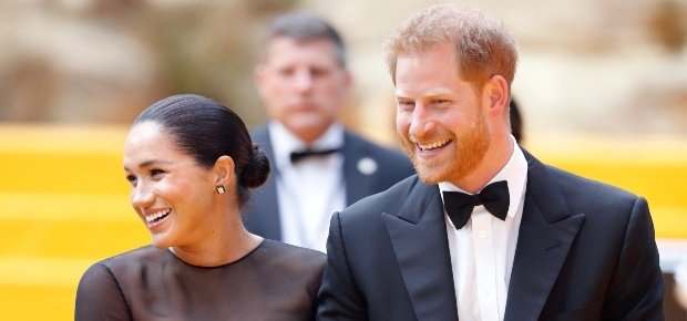Meghan and Harry. (PHOTO: Getty/Gallo Images)