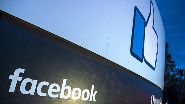 The entrance to Facebook's corporate headquarters in Menlo Park, California. (Photo: File, AFP)