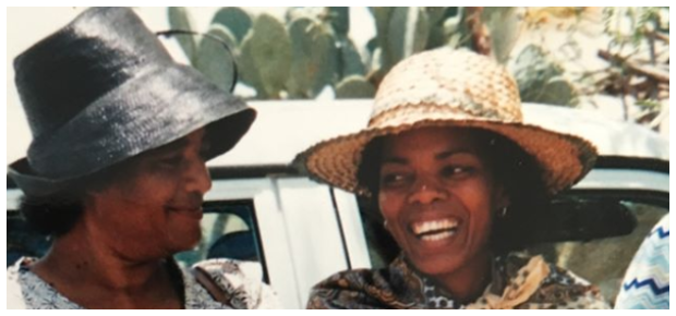 Connie Ferguson and mom