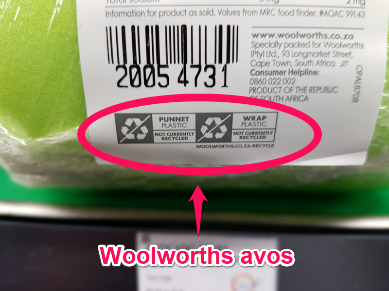 Recycle label