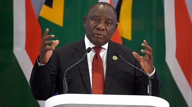 President Cyril Ramaphosa delivers his closing rem