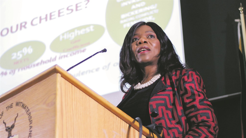 Stand up and be counted: Thuli Madonsela speaks at the SA Local Government Association leadership conversations at the Wits School of Governance