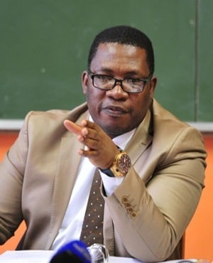 Gauteng Education MEC Panyaza Lesufi. (Christopher Moagi, Daily Sun)