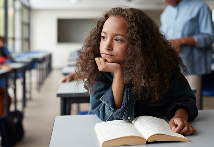 People with untreated Dyslexia may be at a greater risk of suffering from depression and anxiety. (Klaus Vedfelt/Getty Images)