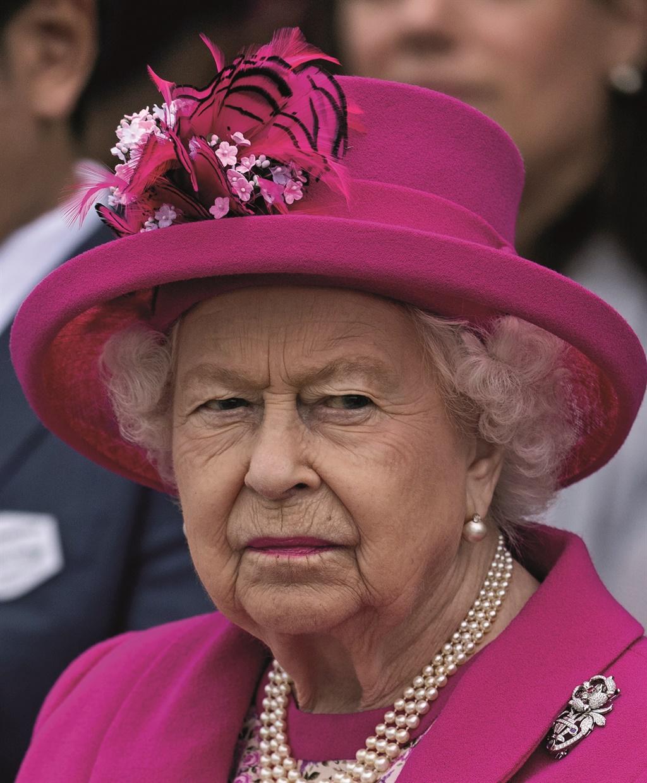 EGHAM, ENGLAND - JUNE 23:  Queen Elizabeth II atte