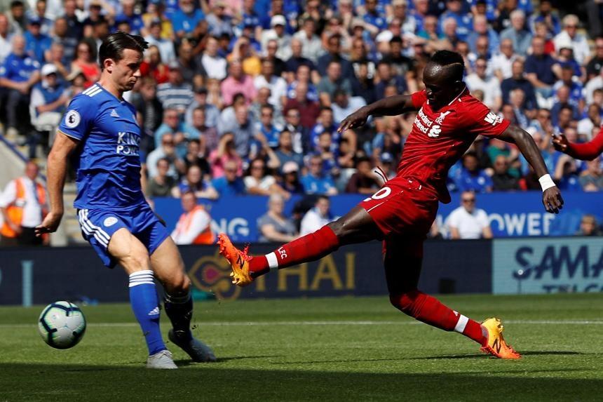 Mane scores against Leicester City