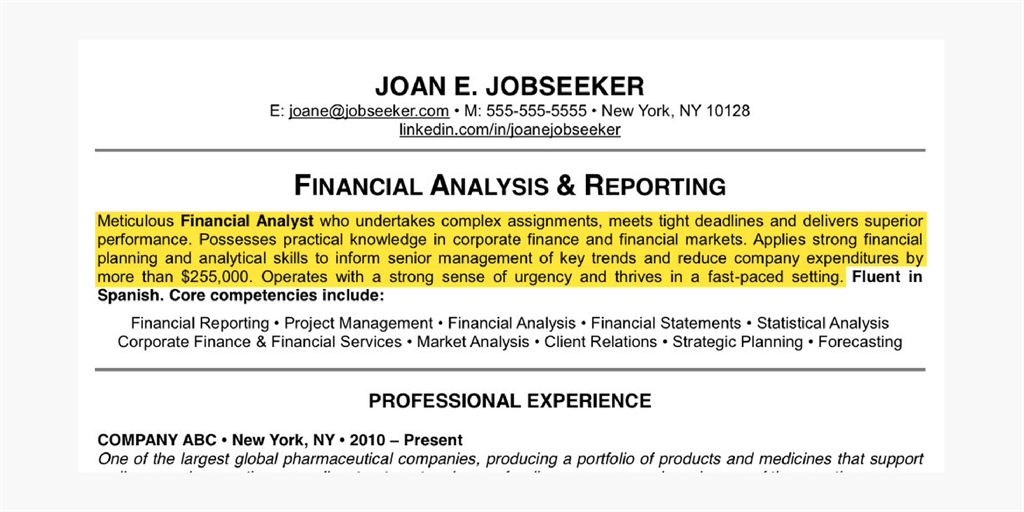 17 Things That Make This The Perfect Résumé