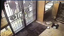 WATCH: Hammer-wielding thieves smash jewellery store display, grab watches