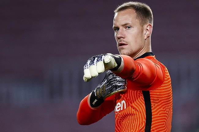 Marc-Andre ter Stegen. (Photo by Eric Alonso/Getty Images)