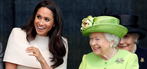 Duchess Meghan and the Queen