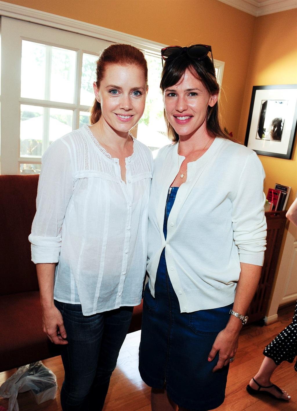 Amy Adams en Jennifer Garner. Foto: Gallo Images/G