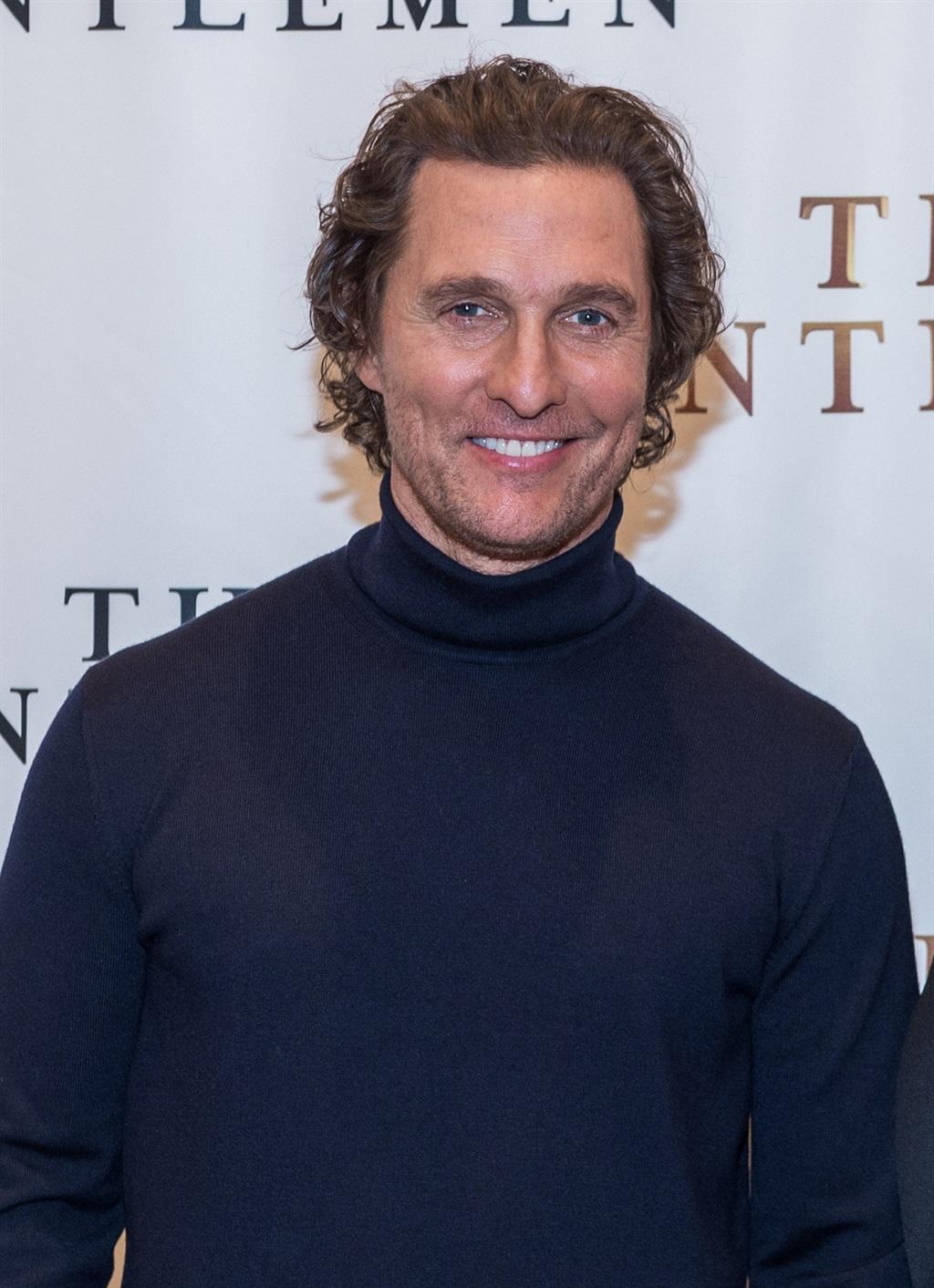 Matthew McConaughey. Foto: Gallo Images/Getty Imag