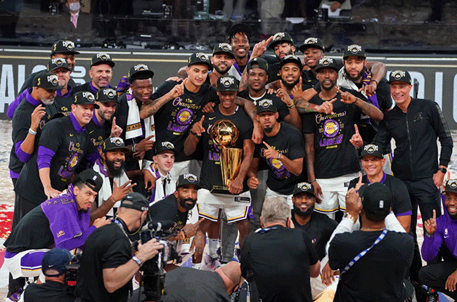 Los Angeles Lakers crowned NBA Champions
