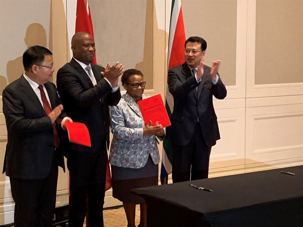 The delegation, led by Zhejiang Governor Yuan Jiajun, arrived in the Eastern Cape on Monday