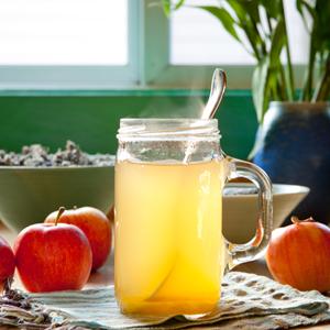 apple cider vinegar beverage