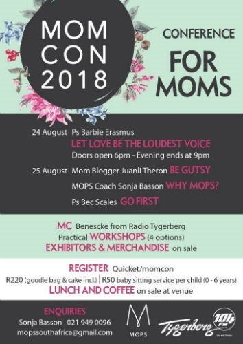 momcon mothers conference