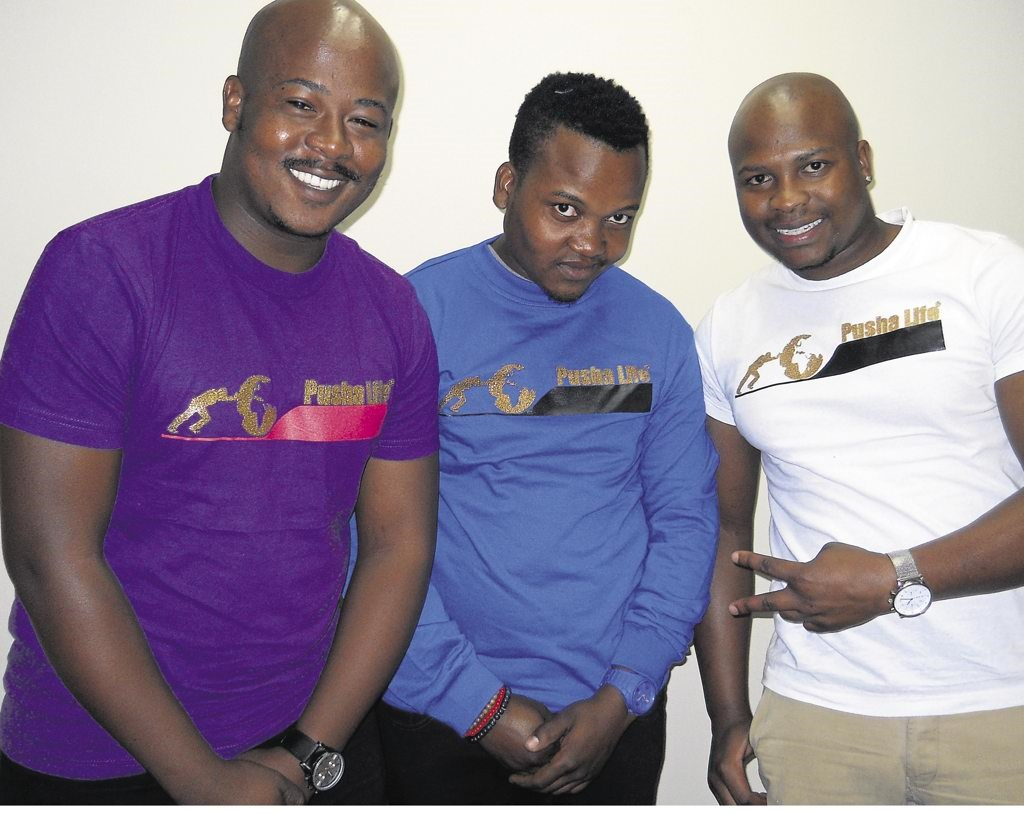 T shirt design queenstown - Barry Madiba Mothusi Shale And Godfrey Maepa In Their Pusha Life T Shirts Photo By Margaret Mlangeni