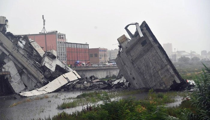 At Least 7 Killed In Bridge Collapse In Italy